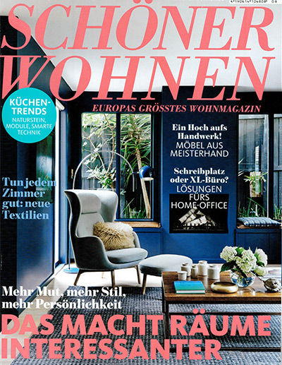 sch ner wohnen magazin ausgabe august 2016. Black Bedroom Furniture Sets. Home Design Ideas
