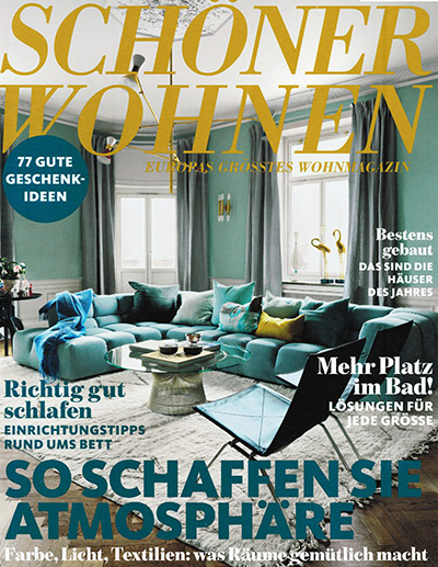 sch ner wohnen magazin ausgabe november 2016. Black Bedroom Furniture Sets. Home Design Ideas
