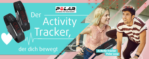 Polar Loop - Der Activity Tacker, der dich bewegt