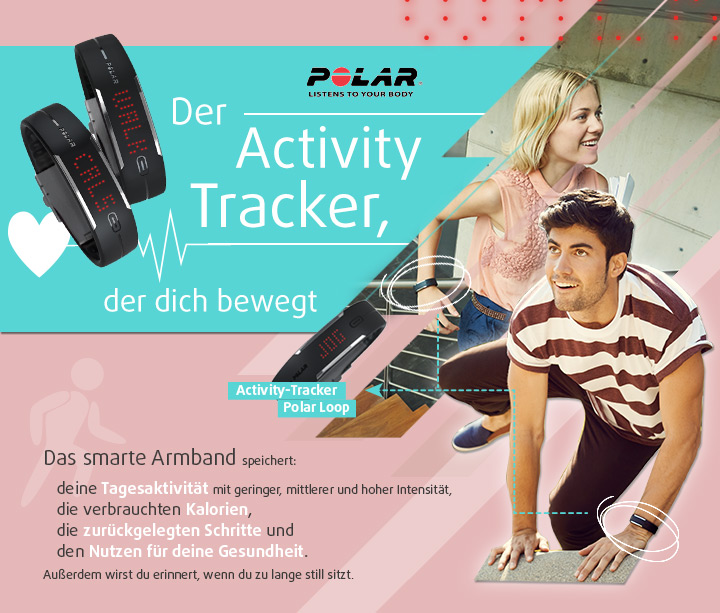 LOOP ACTIVITY TRACKER – Der Activity Tracker, der dich bewegt