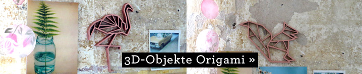 NOGALLERY 3D-Objekte Origami