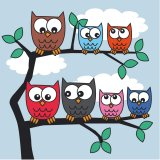 bn3i GmbH Bild Marietta Nellsin - Owl family on a tree