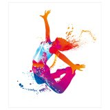 bn3i GmbH Bild Viktoriia Dobrianska - The dancing girl colorful 1