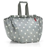 reisenthel Easyshoppingbag grey dots