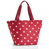 reisenthel Shopper M ruby dots