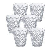 Koziol Becher Crystal S 6er Set transparent klar