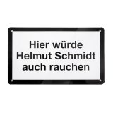 Donkey Products Blechschild Helmut