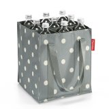 reisenthel 9er Bottlebag grey dots