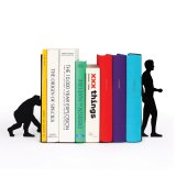 DOIY Buchstützen Evolution Bookends 2er Set