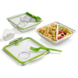 black+blum Lunchbox Appetit weiß/lime
