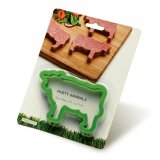 Peleg Design Sandwich Ausstecher Party Animals Cow