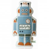 ferm Living Kissen Mr. Large Robot