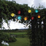 Best Season LED-Solarlichterkette Ball Multi