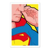 Poster Superman popelnd