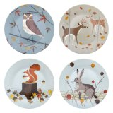 Magpie Teller Forest Friends 19 cm 4er Set