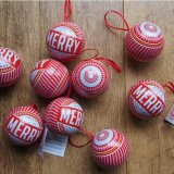 Makers & Merchants Christbaumkugel Christmas Bauble