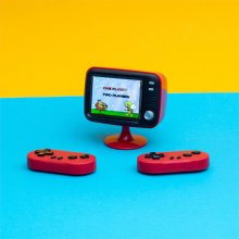 Thumbs Up Retro Konsole Mini TV inkl. 2 Controller