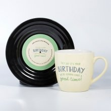 Tassen-Set Lyrical Mug Birthday