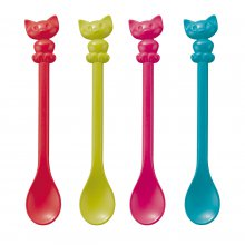 Löffel Happy Spoons Kitty 4er Set