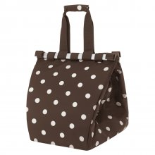 Easyshoppingbag mocha dots