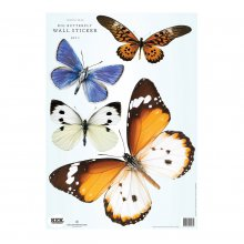 Wandtattoo Schmetterling 4er-Set