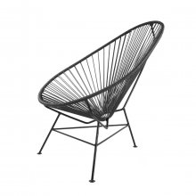 Lounge-Sessel Acapulco Chair Classic schwarz