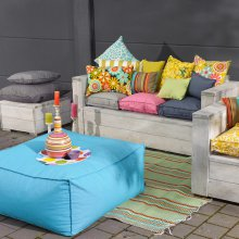 Loungehocker Outdoor Caribe