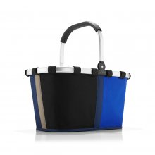 Carrybag patchwork royal blue