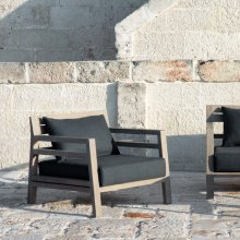 Loungesessel Costes Teakholz