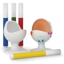 Eierbecher Kreativset Egg Chair DIY 2er Set