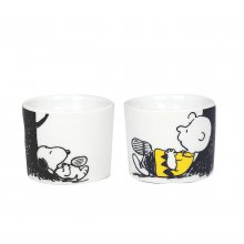 Eierbecher Peanuts 2er-Set