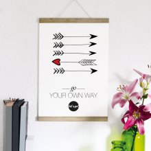 Statement-Poster Go your own way