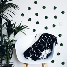 Formart Wandsticker Monstera 40er-Set