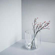 Glasvase in Vase