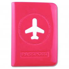Etui für Reisepass Happy Flight rose