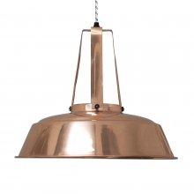 Deckenlampe Workshop Copper L
