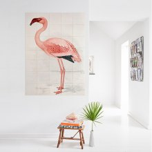 Wanddekoration Greater Flamingo large