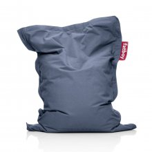 Sitzsack Junior stonewashed blue