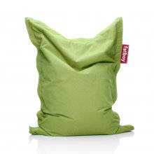 Sitzsack Junior stonewashed dark lime green