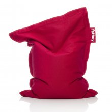 Sitzsack Junior stonewashed red
