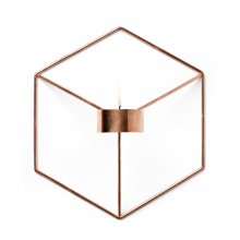 Kerzenhalter POV Wall metallic copper
