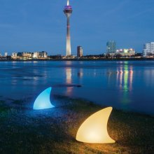 LED Leuchte Shark Outdoor mit Accu