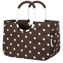 Loopshopper L mocha dots