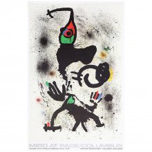 Plakat Joan Miró – Miro At Pace Columbus