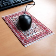 Lovely Mousepad Persian Rug Red