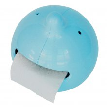 Toilettenpapierhalter Mr. P The Wiper blau