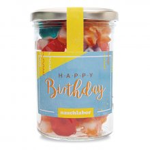 Fruchtgummis Happy Birthday