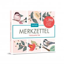 Notizzettel-Set Floral