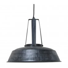 Deckenlampe Workshop Rustic Matt Black L