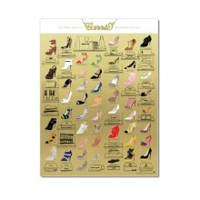 Poster The Many Shoes of Carrie Bradshaw's Closet